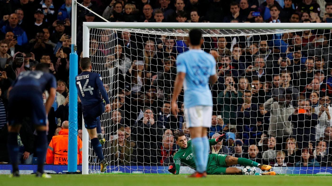 Champions League, le pagelle di Manchester City-Napoli 2-1