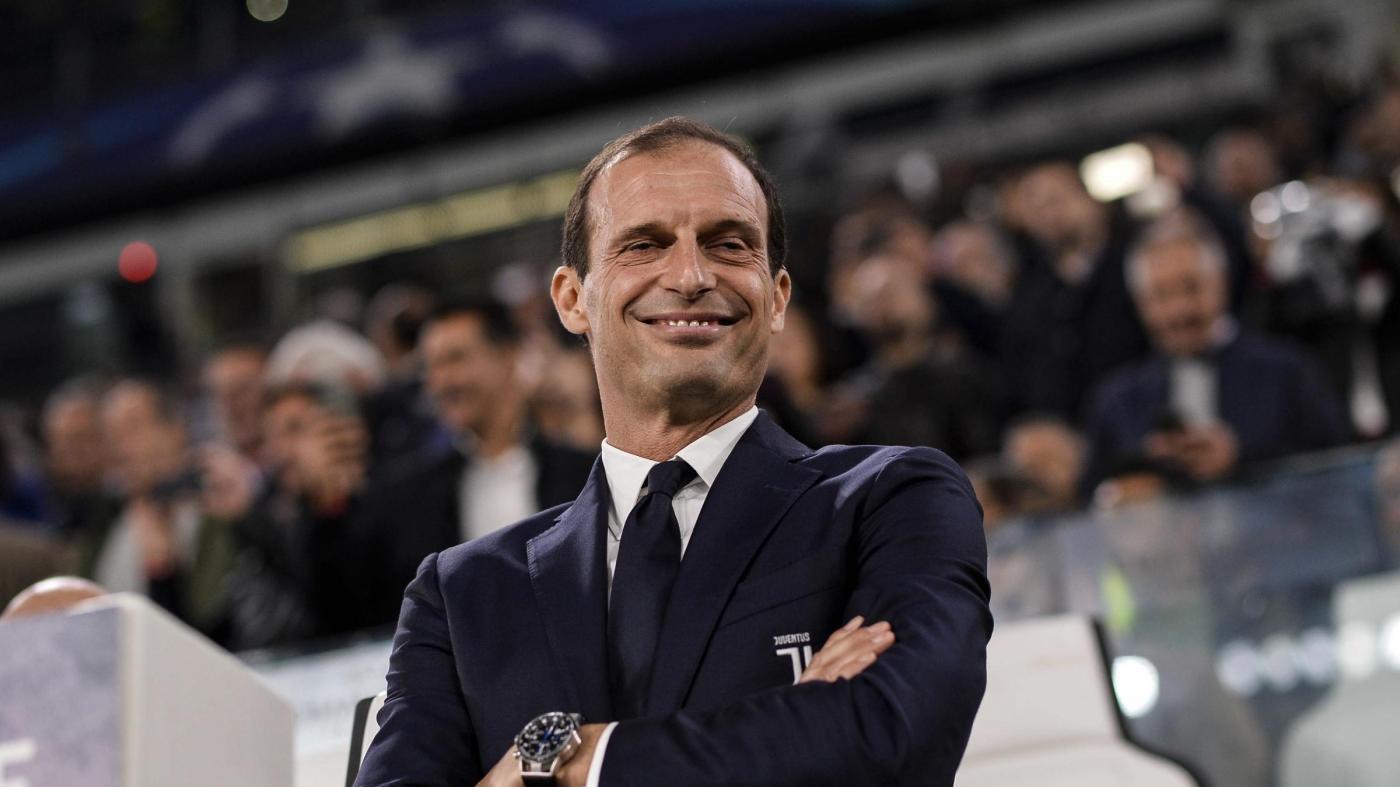"""Juve, Allegri: """"Poco brillanti ma alla fine vittoria importante"""""""