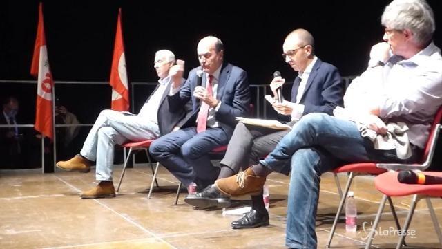 Ravenna, Errani, Bersani e Pisapia al convegno sul futuro della sinistra italiana