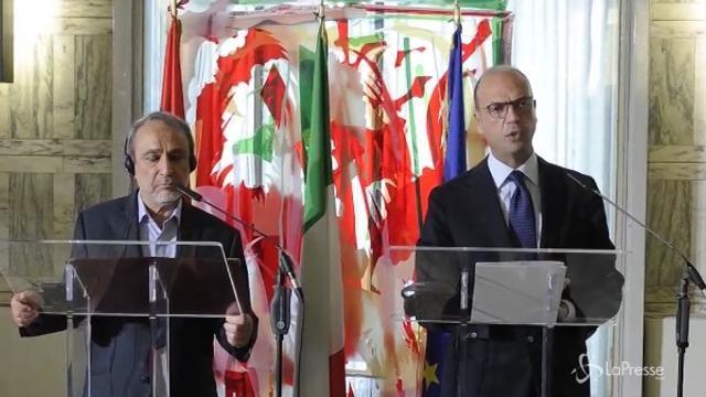 """VIDEO Alfano: """"I libici decideranno il destino del proprio Paese"""""""