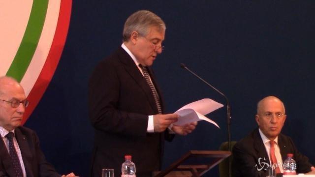VIDEO All'Abi l'intervento di Tajani sulle prospettive dell'Europa