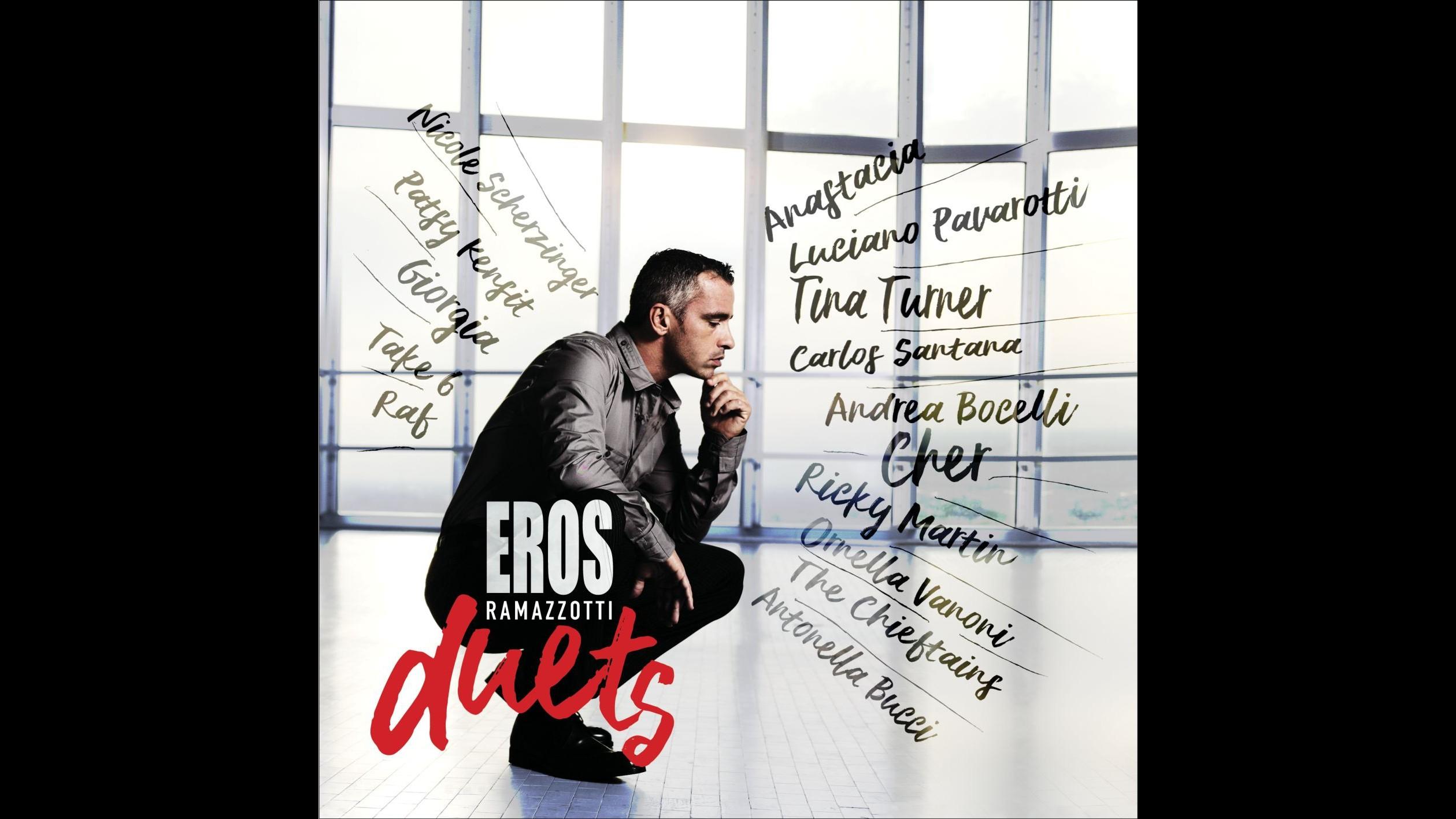Il ritorno di Ramazzotti: il 17 novembre esce 'Eros duets'