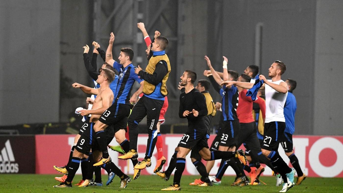 Europa League: Atalanta supera 3-1 Apollon, qualificazione vicina