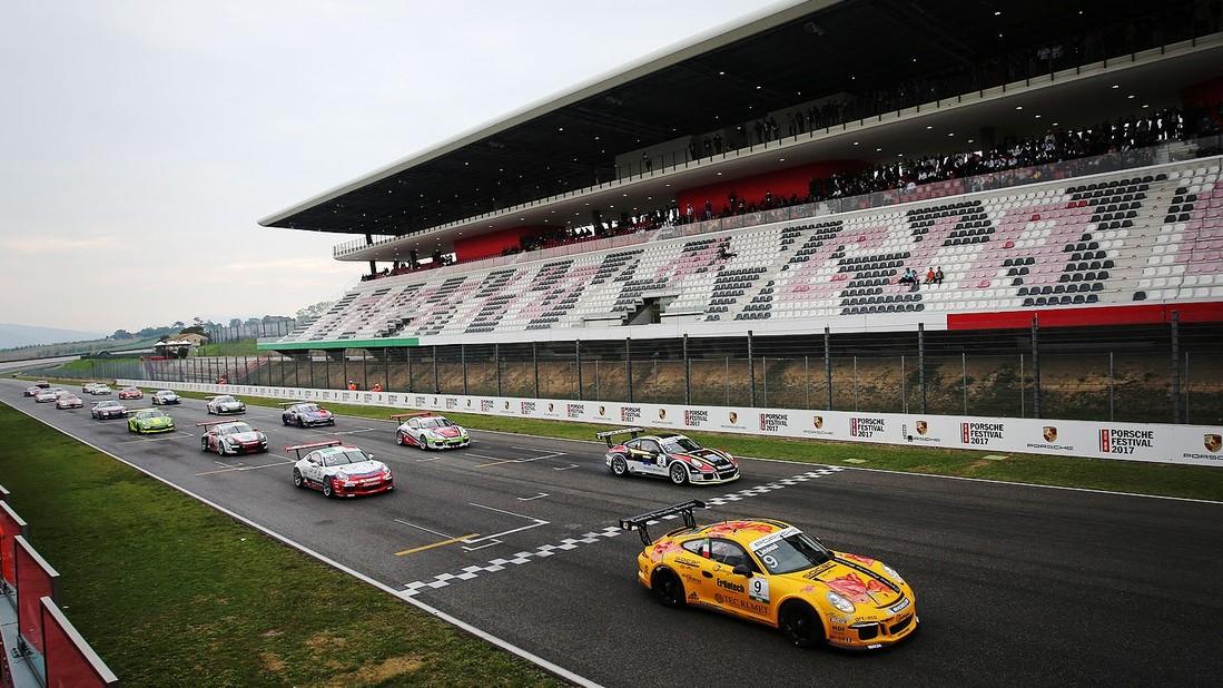 Ultimo elettrizzante appuntamento con la Porsche Carrera Cup Italia 2017
