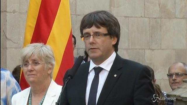 Catalogna, nel pomeriggio la riunione del Parlamento per l'indipendenza