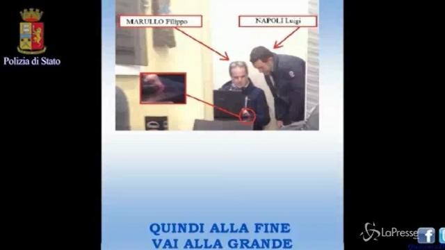 """Roma, le intercettazioni telefoniche dell'operazione """"Pecunia non olet"""""""