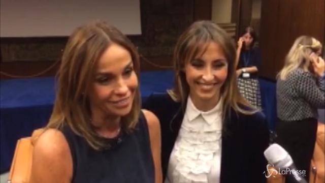 VIDEO Le sorelle Parodi presentano la nuova stagione di Domenica In
