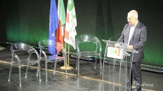 """VIDEO Veltroni: """"L'Italia va governata, e spero che il Pd faccia alleanze"""""""