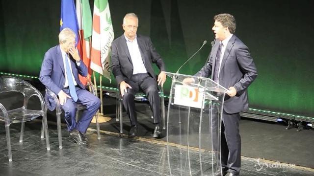 "VIDEO Renzi: ""Chi se ne va dal PD tradisce se stesso"""