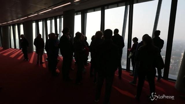 Prima apertura della Torre Hadid a Milano
