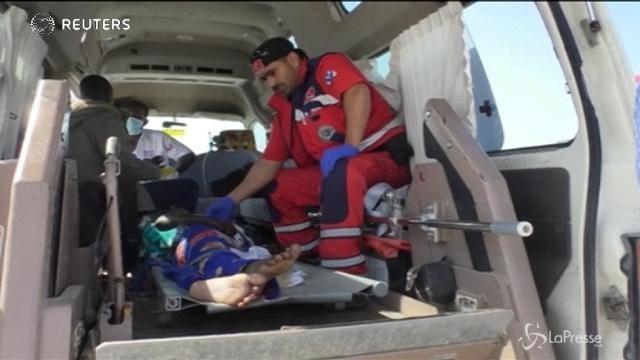 I soccorsi turchi all'aeroporto di Mogadiscio