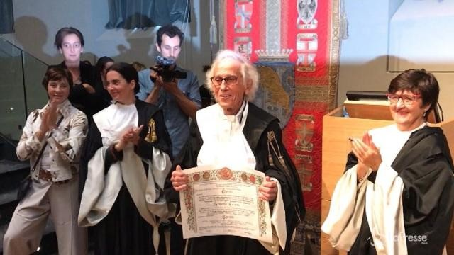 Torino, laurea honoris causa a Christo