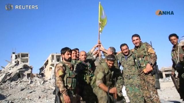Raqqa è stata liberata
