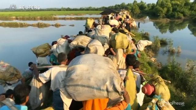 Strage di musulmani rohingya in Birmania