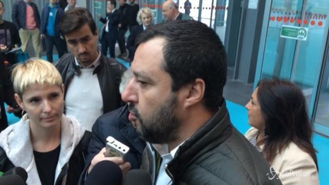 """Referendum autonomia, Salvini: """"Non sarà come la Catalogna"""""""