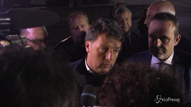"""Renzi: """"Conferma Visco? Non sarebbe mia sconfitta"""""""