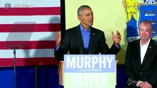 Il ritorno di Obama: attacco indiretto a Trump