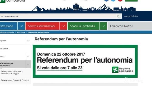 Referendum autonomia: oggi si vota in Lombardia e Veneto