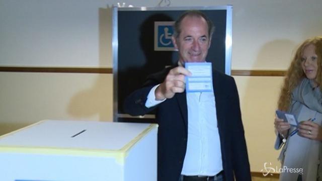 Referendum autonomia, il governatore veneto Zaia al voto