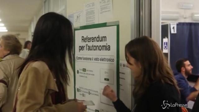 Vince il sì al referendum in Lombardia e Veneto