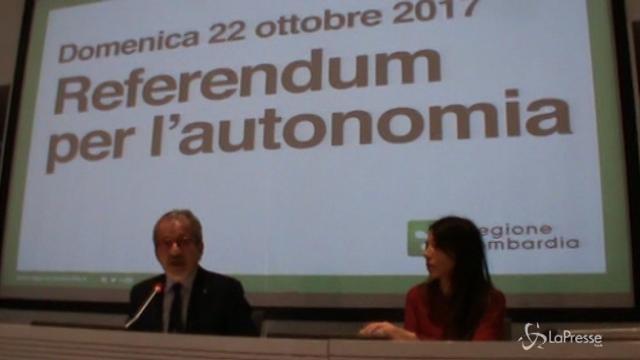 """Referendum autonomia, Maroni: """"Il voto elettronico è il futuro"""""""