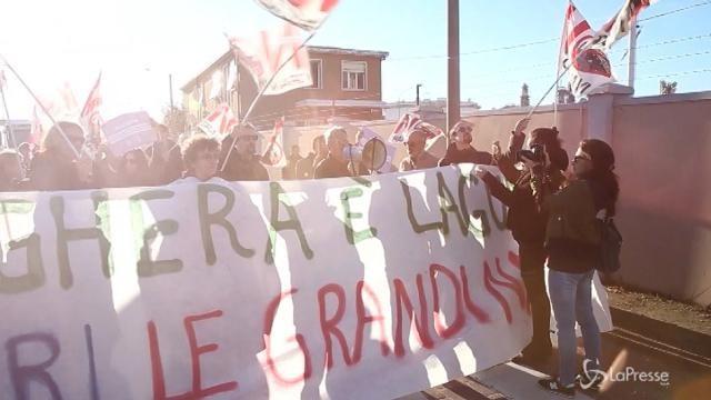 A Venezia la protesta del comitato Nograndinavi