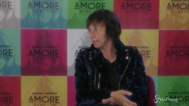 """Gianna Nannini presenta il suo nuovo album: """"Amore gigante"""""""