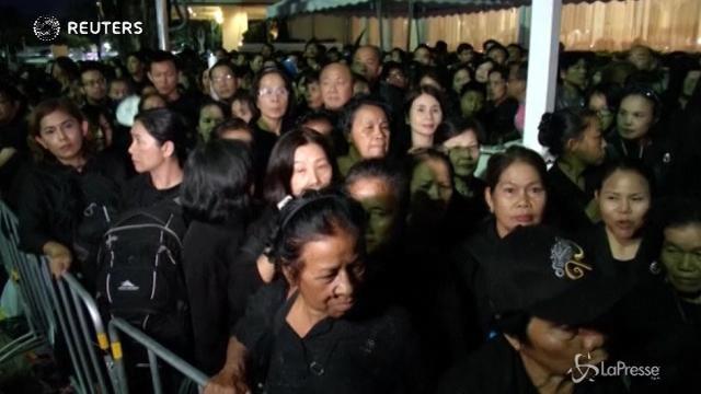 Thailandia, tutto pronto per il funerale del re