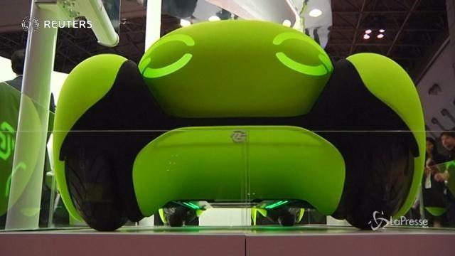 Al Motor Show di Tokyo in mostra la macchina di gomma