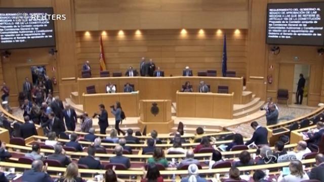 Catalogna, il Senato spagnolo vota sì all'articolo 155