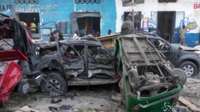 Mogadiscio sotto attacco terroristico