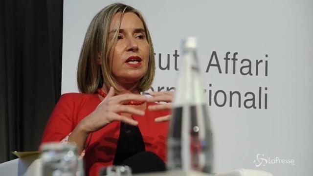 """""""Europa più difesa"""", Mogherini: """"Due terzi dei cittadini europei chiedono più sicurezza"""""""