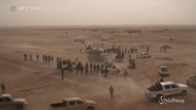 Le truppe irachene si preparano per l'attacco finale all'Isis