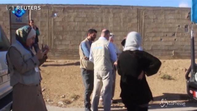 Siria, Nazioni Unite portano assistenza sanitaria a 40mila persone