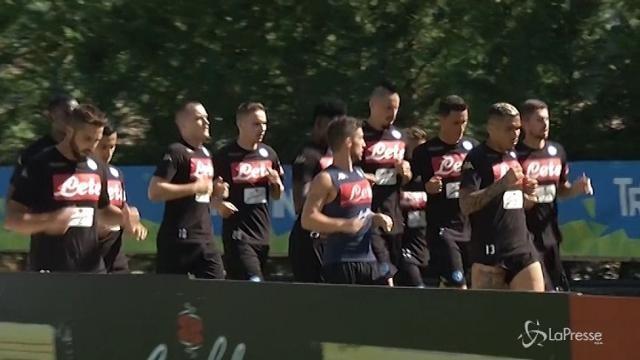 Champions: il Napoli ospita il City