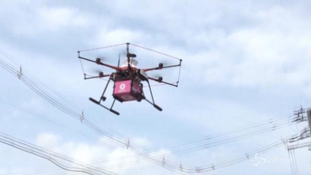 """Il """"food delivering"""" arriva con i droni"""