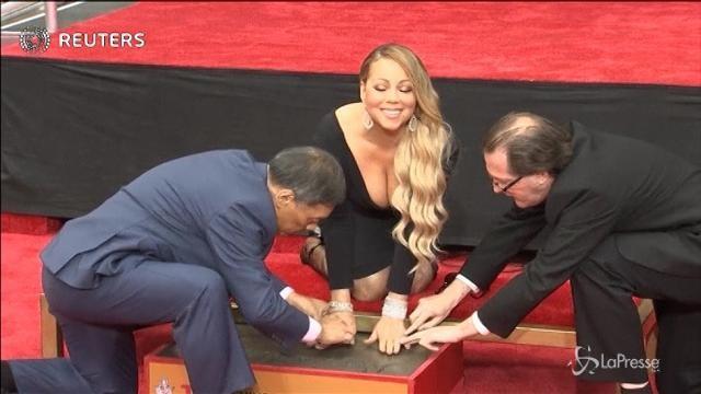Mariah Carey, per una volta, senza parole