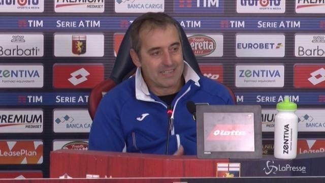 """Giampaolo: """"Vincere il derby è straordinario"""""""