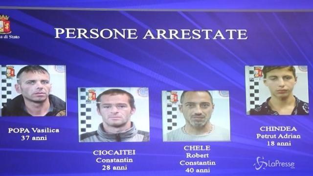 Milano: arrestati in flagrante tre rapinatori