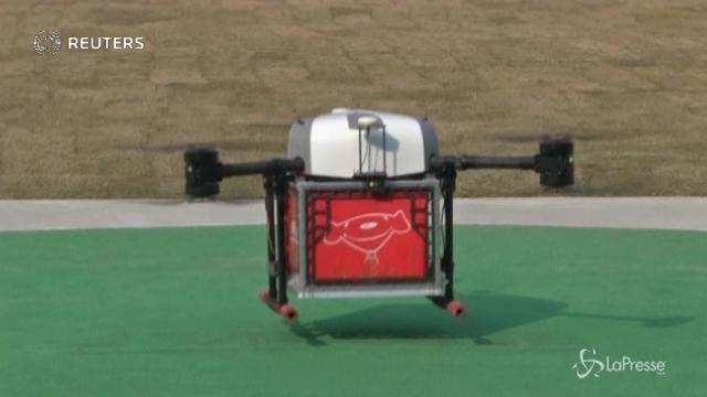 Droni cinesi pronti a partire: per le consegne manca solo una firma