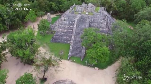 Svelato il segreto nascosto sotto le antiche piramidi Maya