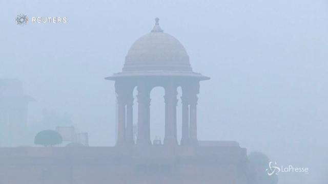 India, sembra nebbia, ma è smog tossico
