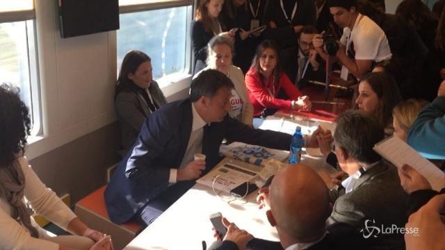 Sul treno di Renzi sale il comitato 'Zero Pfas'