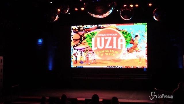 Il Cirque du Soleil presenta il nuovo spettacolo 'Luzia'