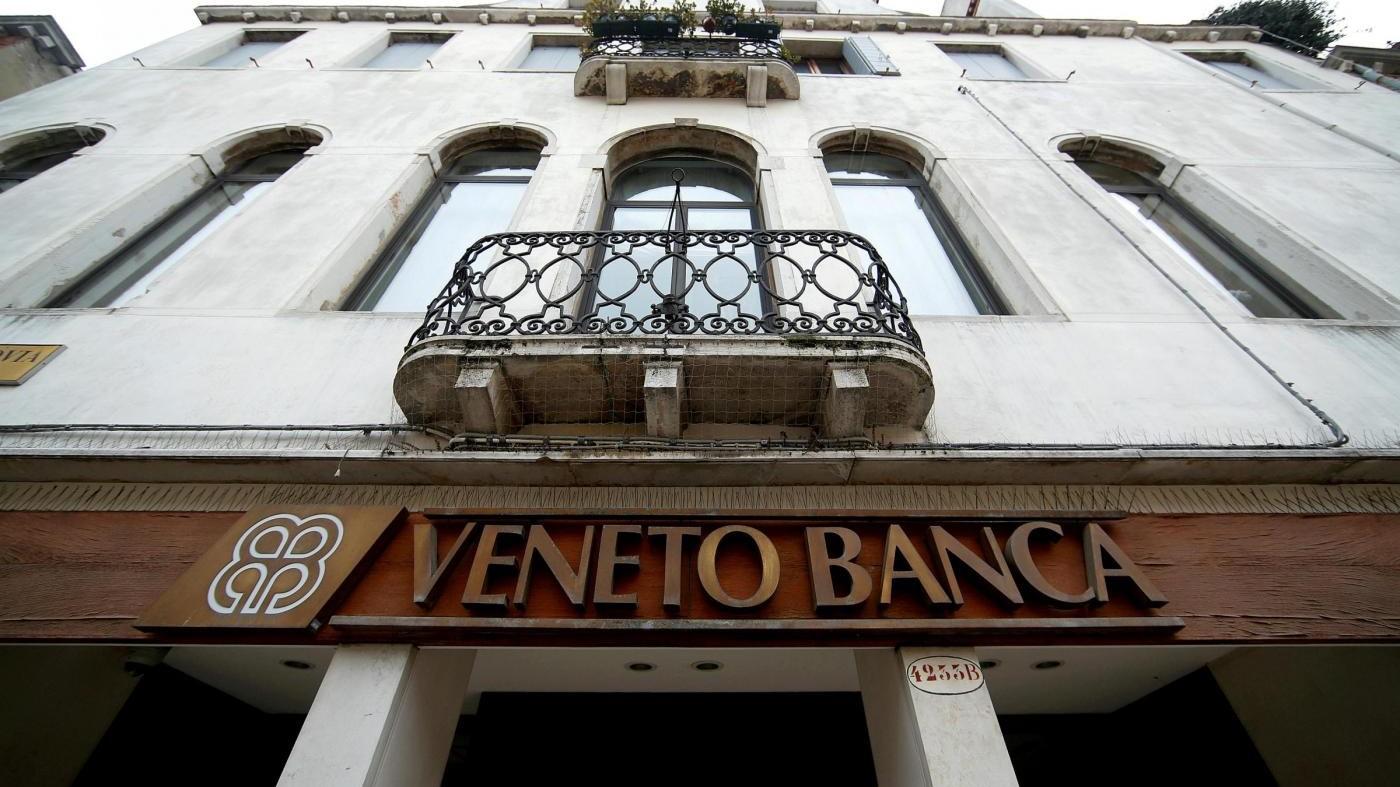 Veneto Banca, maxi sequestro da 59 milioni di euro