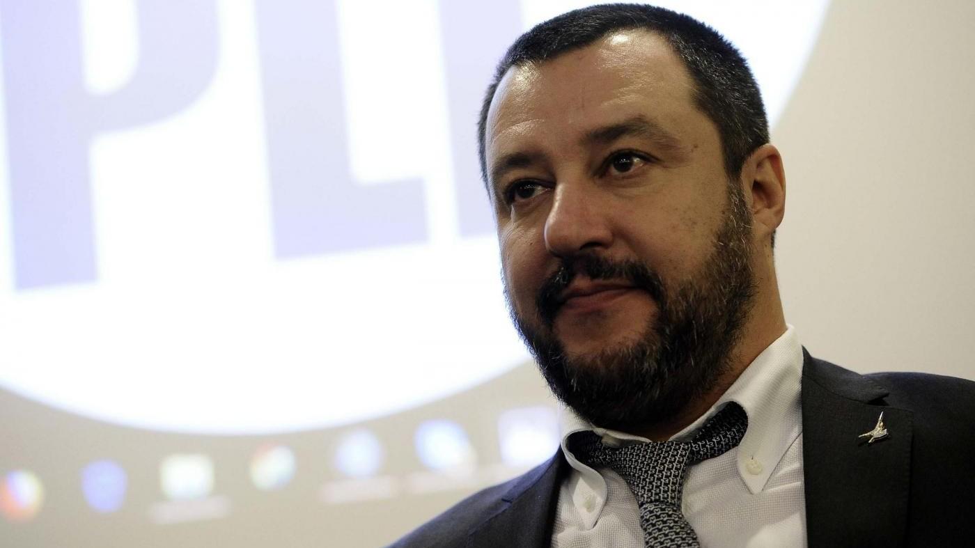 """Salvini a Di Maio: """"Referendum sull'euro? Una sciocchezza"""""""