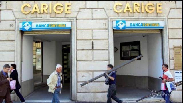 Banca Carige sull'orlo del crack