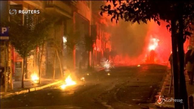 Grecia, scontri tra polizia e studenti ad Atene e Salonicco
