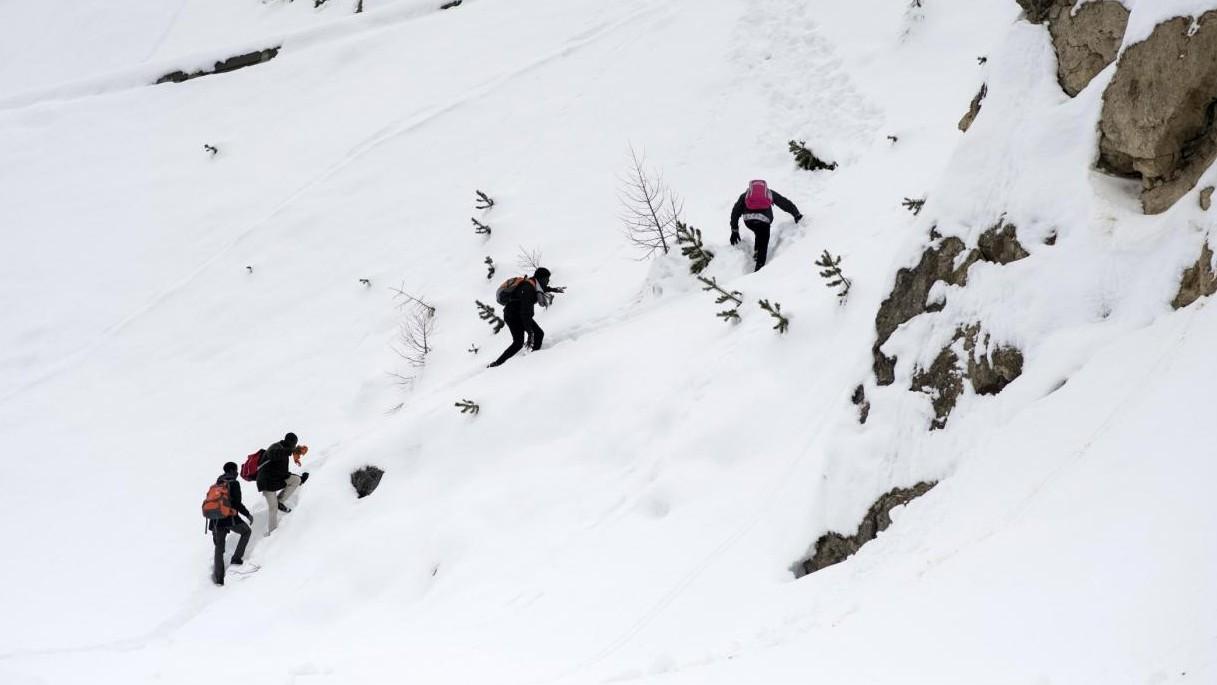 Migranti nella neve: il terribile viaggio da Bardonecchia alla Francia