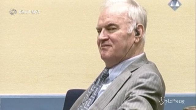 Mladic, vicino il verdetto per il Boia di Srebrenica